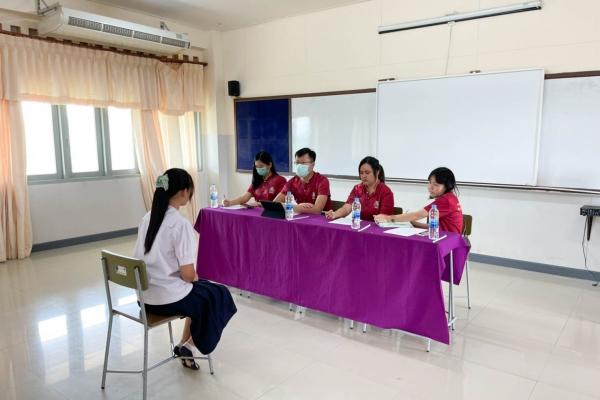 ห้องเรียนพิเศษสอบคัดเลือกนักเรียนเพื่อเข้าเรียนต่อในระดับชั้…